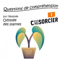 Odyssée des plantes - Compréhension
