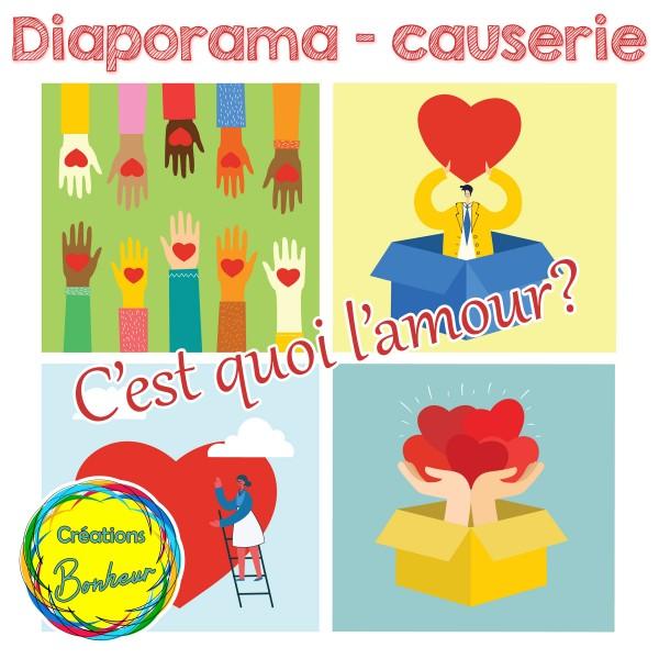 Diaporama - C'est quoi l'amour - causerie