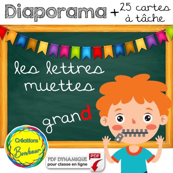 Diaporama - Les lettres muettes