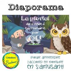 Diaporama - Le pluriel des mots en [OU]