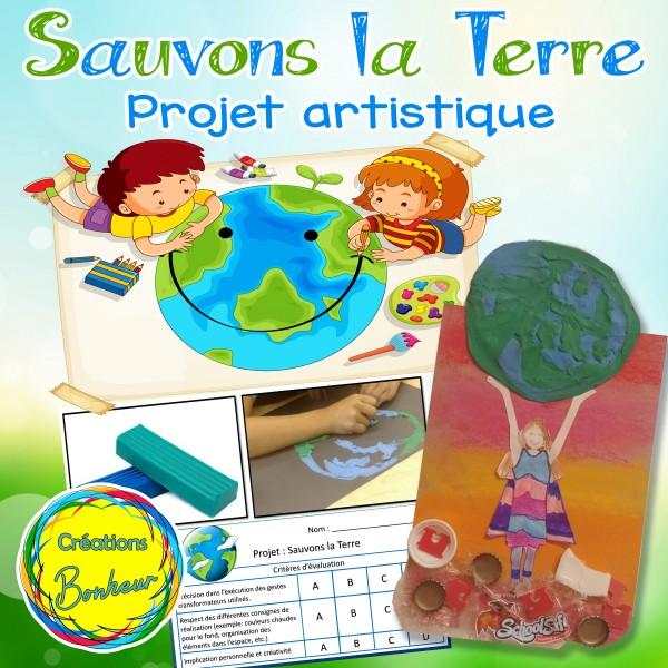 Sauvons la Terre - Arts plastiques