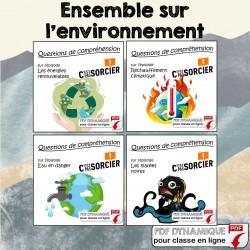 L'environnement - Ensemble de compréhensions
