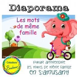 Diaporama - Les mots de même famille