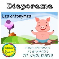 Diaporama - Les antonymes