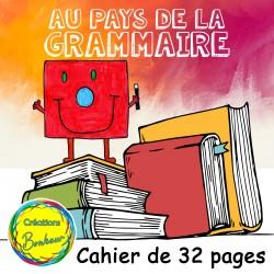 Cahier - Le pays de la Grammaire