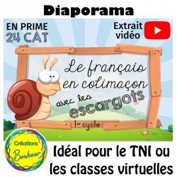 Diaporama - Le français en colimaçon