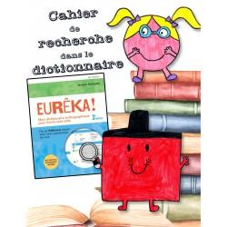 Recherche dans le dictionnaire Eurêka