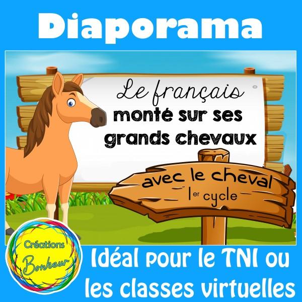 Diaporama Le français monté sur ses grands chevaux