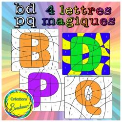 4 lettres magiques (bdpq)