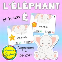 L'éléphant et le son [ É ]