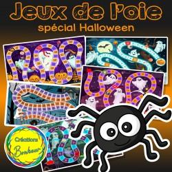 Jeux de l'oie - Spécial Halloween