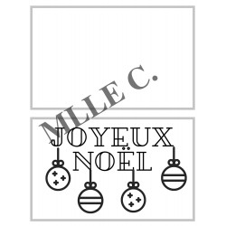 Ensemble de cartes à colorier pour Noël (7)