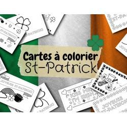 Cartes à colorier pour la St-Patrick (10)