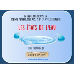 Science: Les états de l'eau