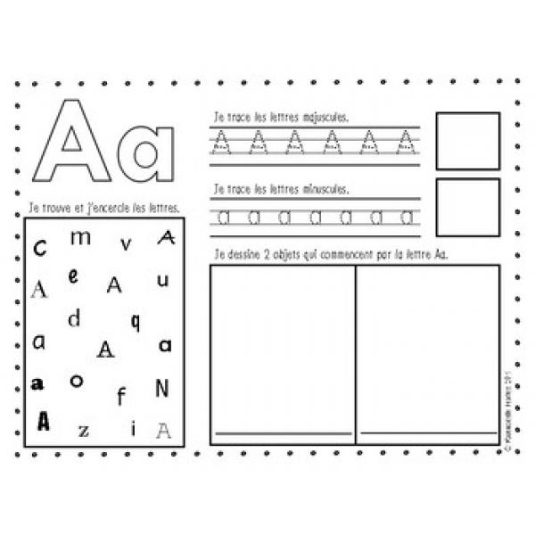 Activités- Les lettres de l'alphabet