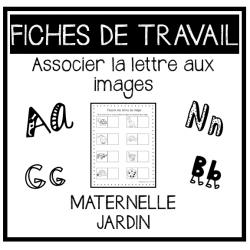 ACTIVITÉ: Association- Lettres et Images