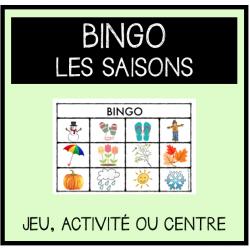 BINGO- Les saisons