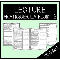 Exercices- Pratiquer la fluidité (lecture)