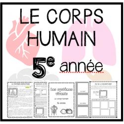 UNITÉ: Le corps humain (Sciences)