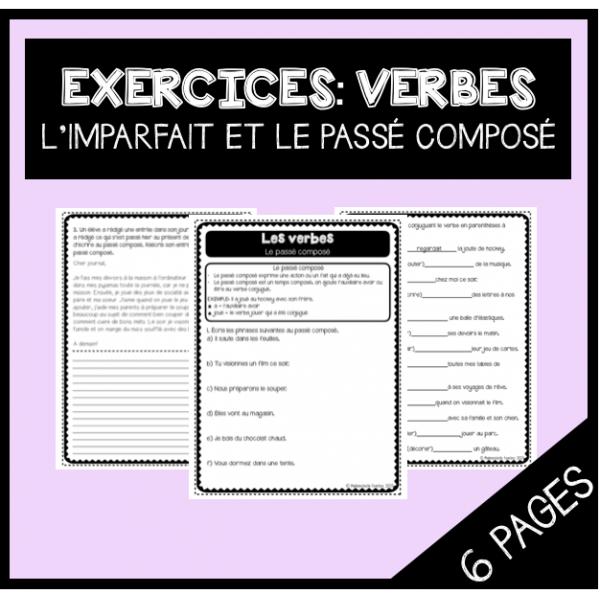 Exercices: Le passé composé et l'imparfait