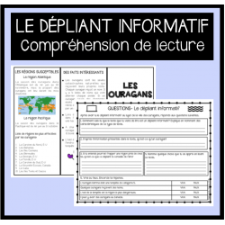 Lecture: Le dépliant informatif (5e année)