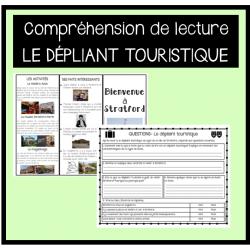 Lecture: Le dépliant touristique (6e année)