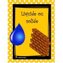 Liquide ou solide