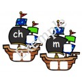Son initial: Bateaux de pirates