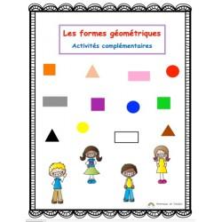 Les formes géométriques-activités complémentaires