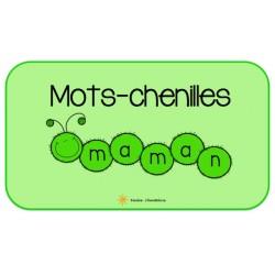 Les mots-chenilles (mots fréquents)