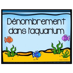 Dénombrement dans l'aquarium