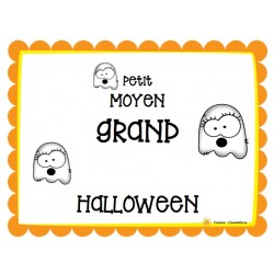 Classification petit-moyen-grand (Halloween)