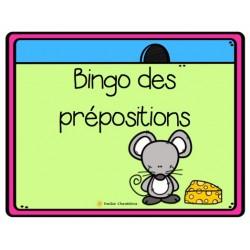 Bingo des prépositions