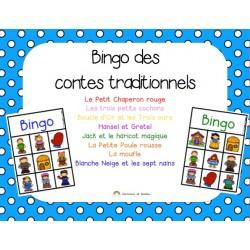 Bingo des contes traditionnels