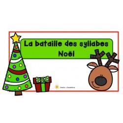 La bataille des syllabes- Noël