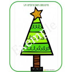 Un arbre bien décoré