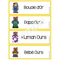 Mots-étiquettes: Boucle d'Or et les trois ours