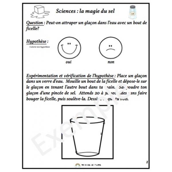 Sciences: La magie du sel