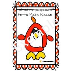 Pâte à modeler - La Petite Poule Rousse