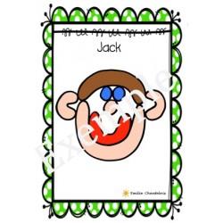 Pâte à modeler -Jack et le haricot magique