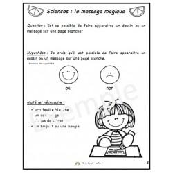 Sciences: le message magique