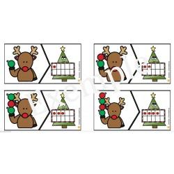 Casse-tête de Noël- Les boules du sapin