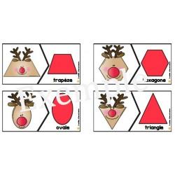 Les formes de Rudolphe- Casse-tête