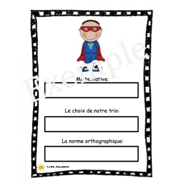 Orthographes approchées - super héros