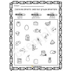 Activités sur l'alimentation (nouveau guide)