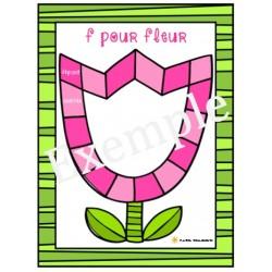 F pour fleur (conscience phono)