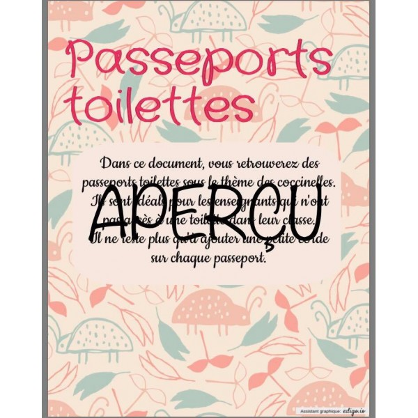 Passeports toilettes