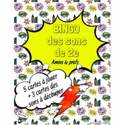 Bingo des sons de 2e année