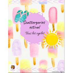 Scattergories estival