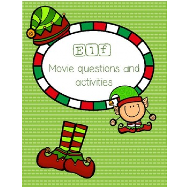 Elf Movie Questions and Activities